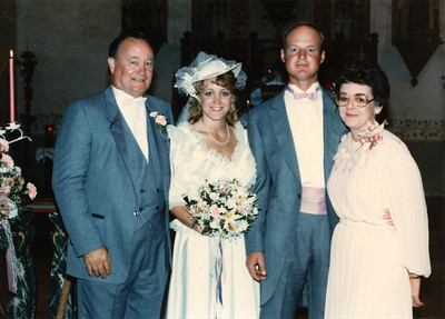 Betsy & Frank's Wedding (14 Jun 1986)