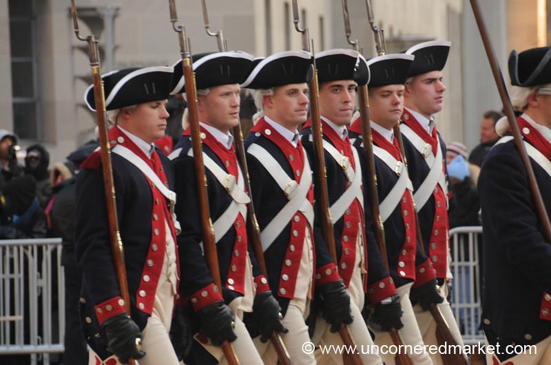 Marching Men - Washington DC, USA