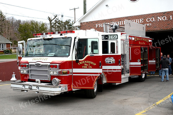 Friendship Fire Company, Englewood receives new Pierce - 04/15/2013