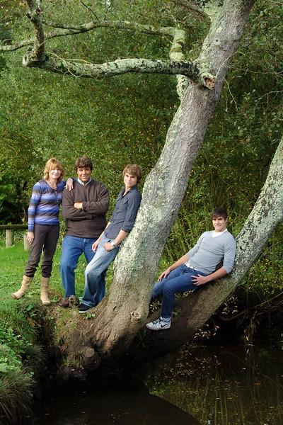 Carol, Chris, Richard and Simon