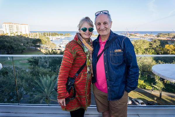 Carlo Visits St Petersburg