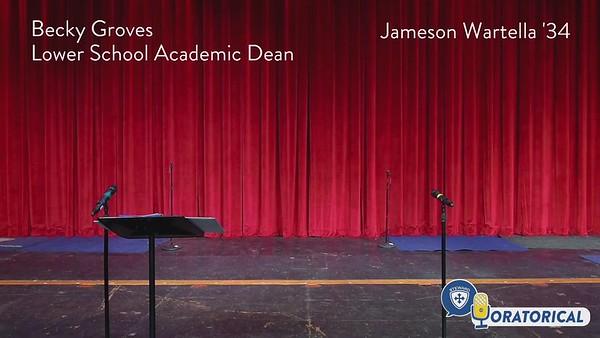 Lower School Oratorical  Videos