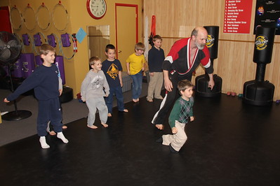 Tamaqua Scouts Learn Self Defense, USA Martial Arts, Tamaqua (4-30-2014)