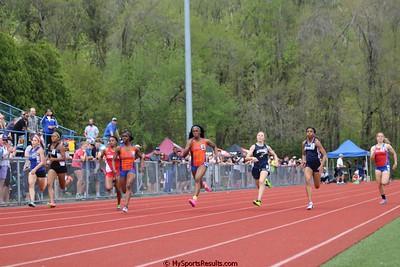 Girls 100m Dash Finals