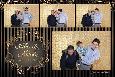 Marcano Wedding Photobooth 1.13.2019