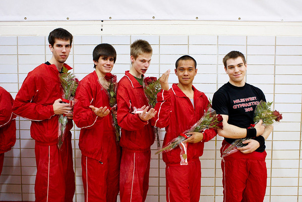 2008.04.17 - Boys' Gymnastics - Niles West Senior Night