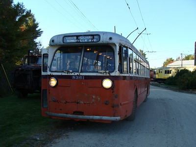 My Seashore Trolley Museum Bus Shots