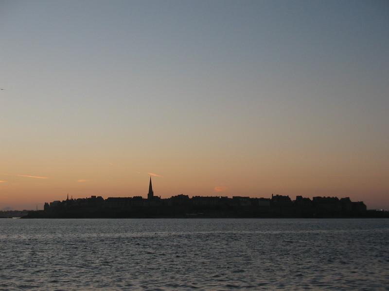 St-Malo sunset - Mimi Nenno