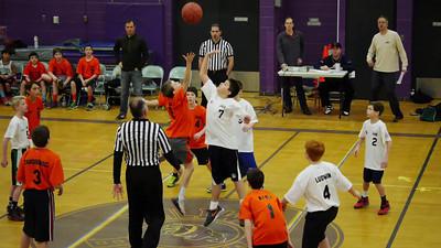 2013 Rec. Basketball; Evan.