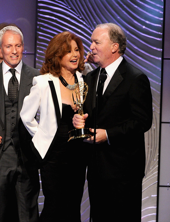 """. Executive producer Ken Corday accepts the award for Outstanding Drama Series for \""""Days of our Lives\"""" onstage during The 40th Annual Daytime Emmy Awards at The Beverly Hilton Hotel on June 16, 2013 in Beverly Hills, California.  (Photo by Kevin Winter/Getty Images)"""