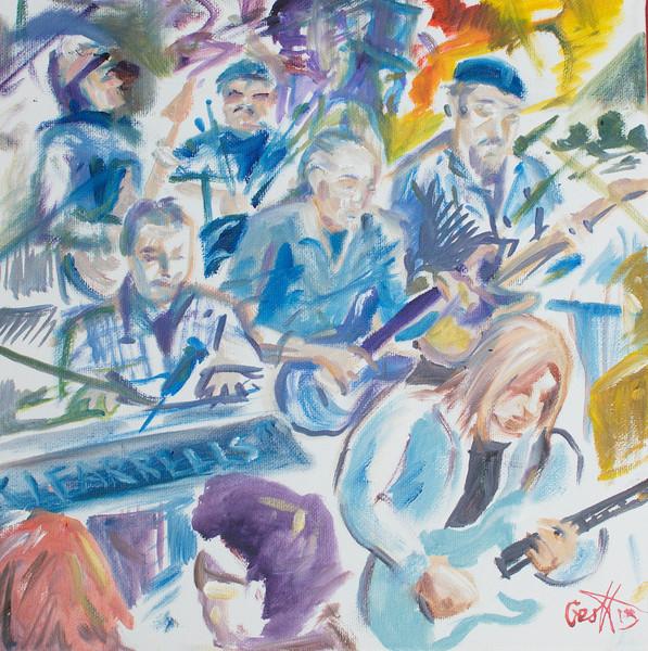 Breakaway & Bert Elliott By Geoff Rawling  Current bid: $120, high bidder Bill