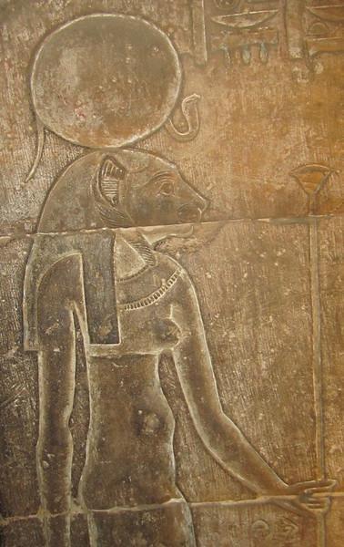 Sechmet at the Edfu Temple