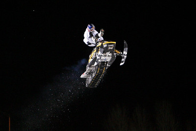 ESPN Winter X-games - Snowmobile Freestyle