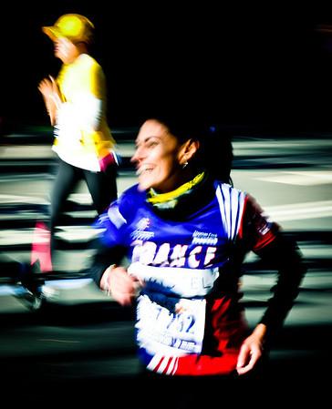 NYC Marathon in motion 2011