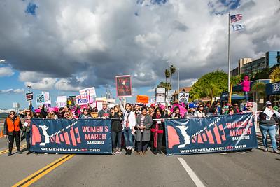 Women's March San Diego, 2018