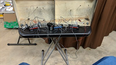 Just Plug Lighting System on a T-Trak Double