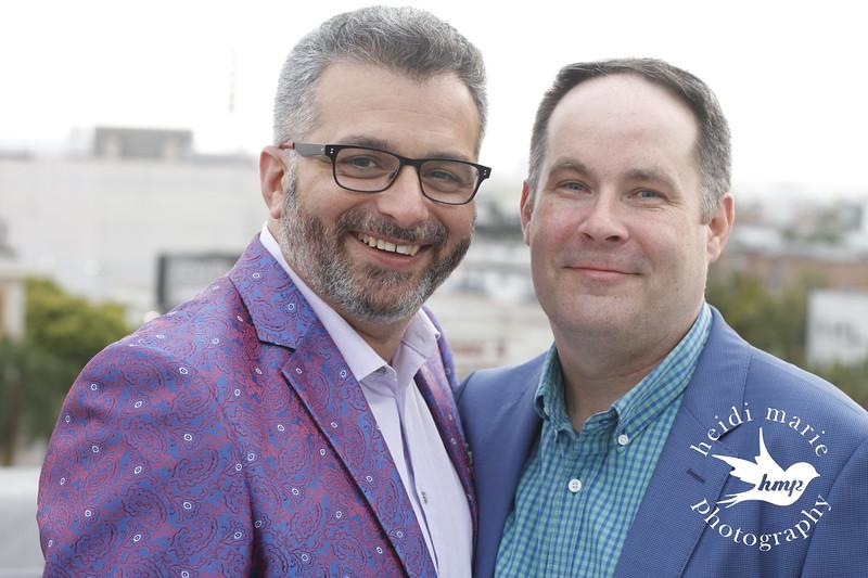 Tony and Seth's Rooftop Wedding