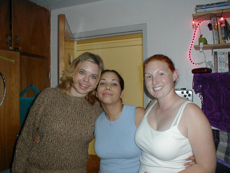 Aerika, Yarissa, and Carolyn.l