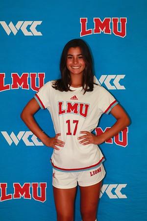 LMU Womans Soccer Team Individual Photos (Album 1) Aug.11, 2021