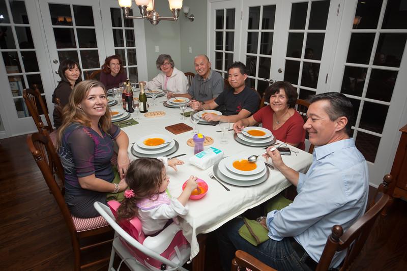 Thanksgiving dinner 2010