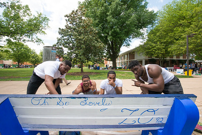 Bench Painting Party (like it's 2019)