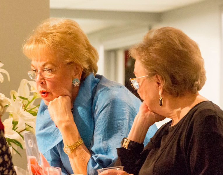 Barbara Moore and Sarah Lu Burrowes