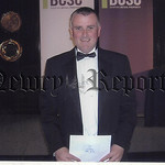Colin Kavanagh, Deputy Manager of the Quays Shopping and Leisure Complex, Newry, is pictured receiving his award from the BCSC Shopping Centre Management course. Colin showed outstanding sch ...