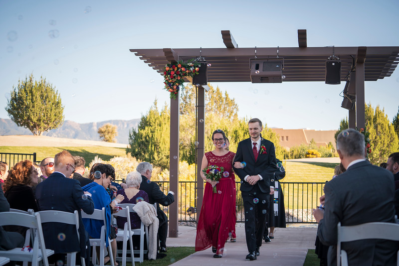 Sandia Hotel Casino New Mexico October Wedding Ceremony C&C-56.jpg