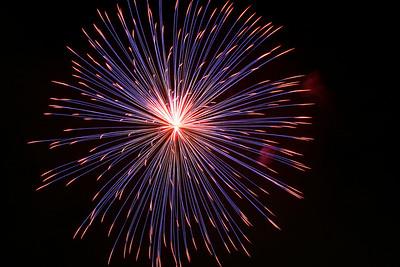 Fireworks - July 4th, 2007