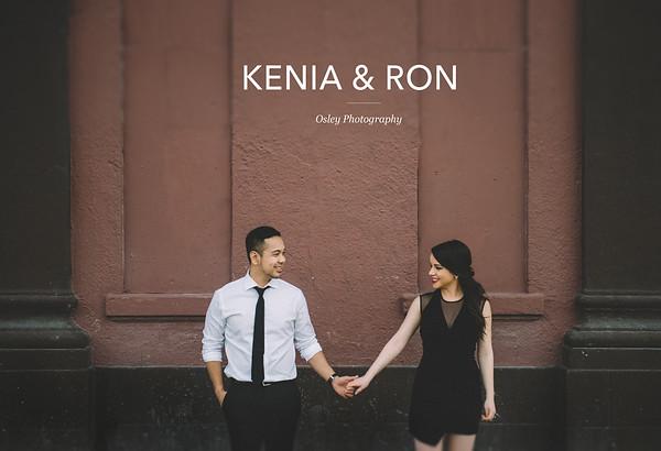 Kenia & Ron Engagement