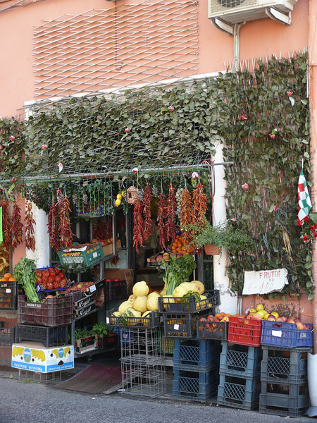 Sidrunid kui melonid Positanos