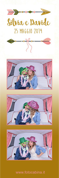 Photobooth con Selfiebus matrimonio Silvia e Davide - wedding photo booth by fotocabina