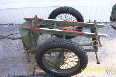 M1A1 CHEMICAL MORTAR & AMMO CART (7)