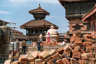 Reconstructing Kathmandu - Mar 2017