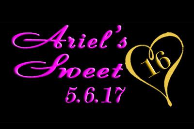 2017-05-06 Ariel's Sweet 16