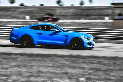 2021 SCCA TNiA Pitt May 20 Blu Mustang Wht Stripes