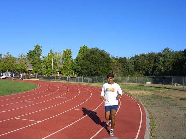 Week 10 Track workout