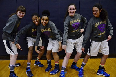 OE girls basketball Varsity Vs Minooka 2015 (Senior  Night)