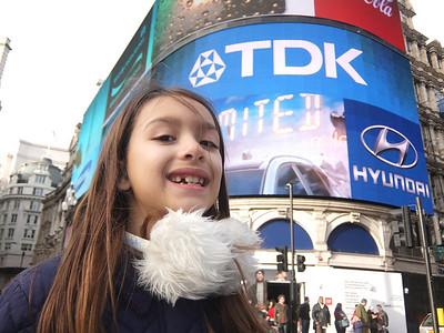 Megan in London 2014