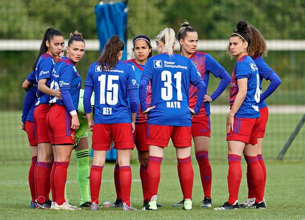 AXA Woman's  Cup HF  FC Basel - FC Luzern / 0:1 / 05. Mai 2021