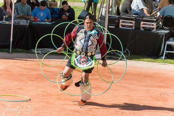 Native Hoope Dance Contest