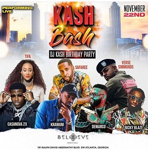 DJ KASH KASH BASH BIRTHDAY CELEBRATION