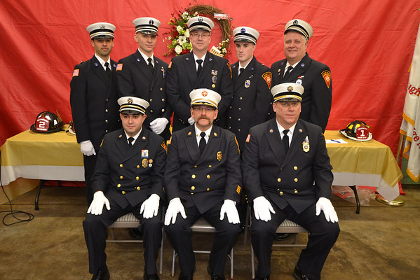 2014 River Edge, NJ Fire Department Officers