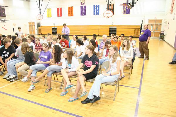2007 ROCHELLE MIDDLE SCHOOL GRADUATION