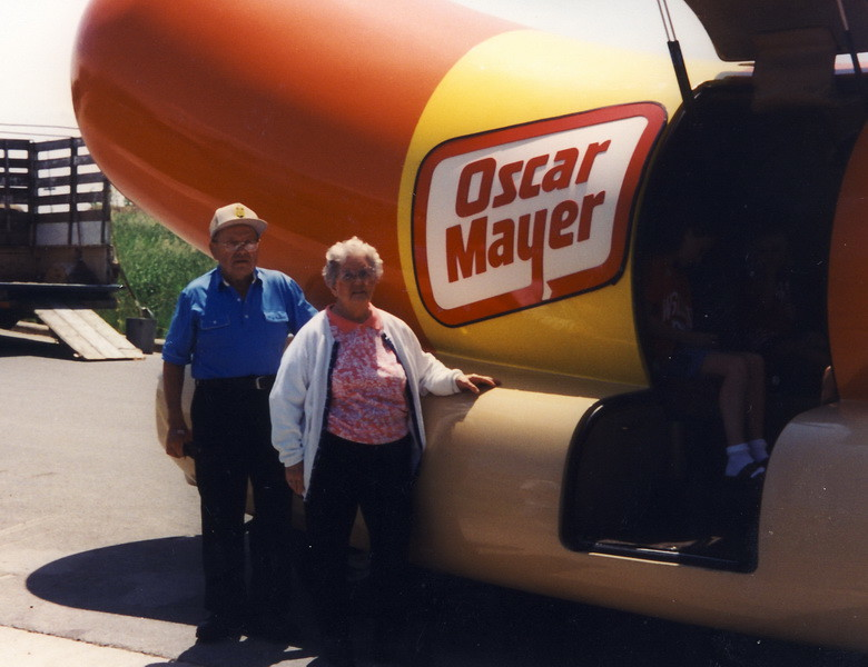 Arnold and Marian and Weinermobile