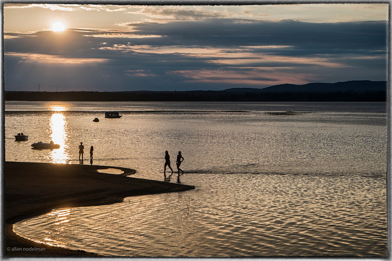 Watching the Sun Set in Constance Bay