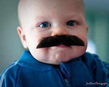 Mustachioed Blake