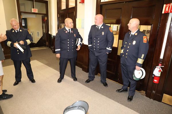 Chief Clancy Swearing in