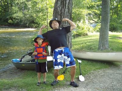 Boys Canoe Trip 7-2009