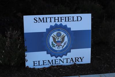 Superintendent Surprises Smithfield Elementary Teacher of the Year